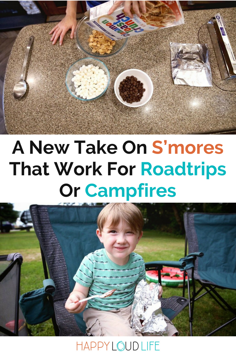 A New Take On S'mores That Work For Roadtrips Or Campfires